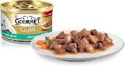 Gourmet Gold - ЛОСОСЬ С ЦЫПЛЕНКОМ (КУСОЧКИ В ПОДЛИВКЕ)