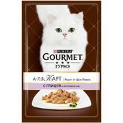 """""""Gourmet A La Carte """"ДОМАШНЯЯ ПТИЦА И ОВОЩИ"""" - КОНСЕРВЫ ДЛЯ КОШЕК"""