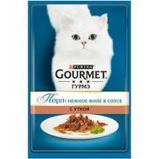 """""""Gourmet Perle """"Мини-филе утка"""" - Консервы для кошек"""