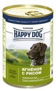 """HAPPY DOG Ягненок с рисом - КОНСЕРВЫ ДЛЯ СОБАК"