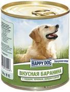 """HAPPY DOG """"БАРАНИНА СЕРДЦЕ ПЕЧЕНЬ РУБЕЦ РИС"""" - КОНСЕРВЫ ДЛЯ СОБАК"""