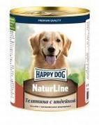 Happy Dog Natur Line Телятина с индейкой - консервы для собак