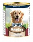 Happy Dog Natur Line Телятина  с сердцем, печенью и рубцом - консервы для собак