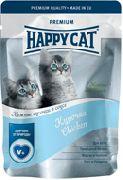 """HAPPY CAT """"КУРОЧКА С МОРКОВЬЮ"""" - КОНСЕРВЫ ДЛЯ КОТЯТ (ПАУЧ)"""