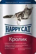 """HAPPY CAT """"ПАУЧ - КРОЛИК"""" - КОНСЕРВЫ ДЛЯ КОШЕК"""