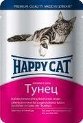 """HAPPY CAT """"ПАУЧ - ТУНЕЦ В ЖЕЛЕ"""" - КОНСЕРВЫ ДЛЯ КОШЕК"""