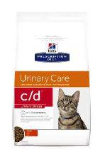 Hills pd feline c/d стресс при цистите - сухой корм для кошек
