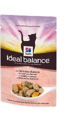 """Hills ideal balans """"пауч лосось овощи"""" - консервы для кошек"""