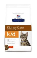 Hills pd feline k/d (курица) - сухой корм для кошек