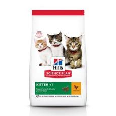 """hill's kitten chicken - сухой корм для котят"