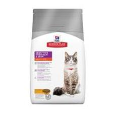 Hills sp feline sensitive stomach skin - сухой корм для кошек
