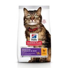 Hills sp feline sensitive stomach skin - сухой корм для кошек с чувствительным желудком