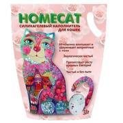 HOMECAT Роза - Силикагелевый наполнитель
