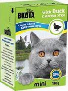 """Bozita MINI """"Кусочки в соусе с мясом утки"""" - Консервы для кошек"""