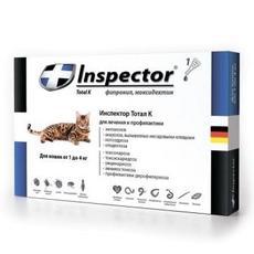 Inspector - капли для кошек до 4 кг