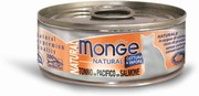 MONGE CAT NATURAL КОНСЕРВЫ ДЛЯ КОШЕК ТИХООКЕАНСКИЙ ТУНЕЦ С ЛОСОСЕМ