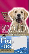 """NERO GOLD """"FISH & RICE 24\13 РЫБНЫЙ КОКТЕЙЛЬ, РИС И ОВОЩИ"""" - СУХОЙ КОРМ ДЛЯ СОБАК"""