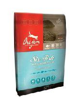 Orijen cat 6 fresh fish - сухой корм для кошек с рыбой