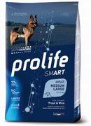 PROLIFE Smart Adult Trout & Rice - Сухой корм для собак средних и крупных пород