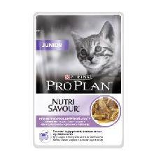 Pro plan junior  ( индейка ) - консервы для котят ( пауч )