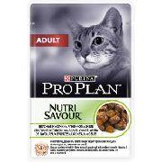 """Pro Plan Adult """"С ягненком - Консервы для кошек (пауч)"""