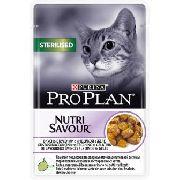 """Pro Plan Nutrisavour Sterilised """"Индейка"""" - Консервы для кошек (пауч)"""