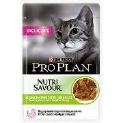 """Pro Plan Nutrisavour Delicate """"Ягненок"""" - Консервы для кошек ( пауч )"""