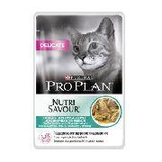 "Pro Plan Nutrisavour Delicate ""Рыба"" - Консервы для кошек (пауч)"