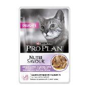 """Pro Plan Nutrisavour Delicate """"Индейка"""" - Консервы для кошек (пауч)"""