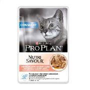 """Pro Plan Nutrisavour House Cat """"Лосось"""" - Консервы для кошек (пауч)"""