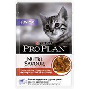 Pro Plan Junior ( говядина ) - Консервы для котят (пауч)