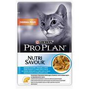 """Pro Plan Nutrisavour Derma Plus """"Треска"""" - Консервы для кошек (пауч)"""