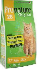 Pronature original 28 cat - сухой корм для кошек