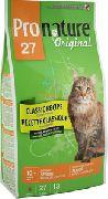 Pronature Original 27 Cat - Сухой корм облегченный для кошек