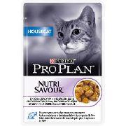 """Pro Plan Nutrisavour House Cat """"Индейка"""" - Консервы для кошек ( пауч)"""