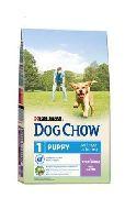 "DOG CHOW ""Puppy- Junior (Ягненок)"" - Сухой корм для щенков (14 кг)"