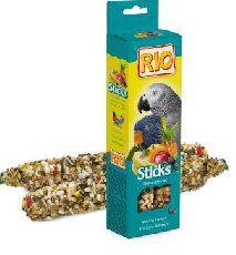 """""""""""рио  - палочки для попугаев с фруктами и ягодами"""