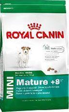 Royal canin mini adult 8+ - сухой корм для собак