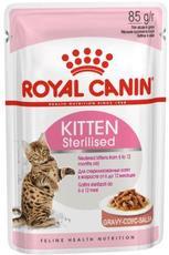 Royal canin kitten sterilised (соусе) - консервы для котят