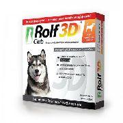 ROLF CLUB 3D - ОШЕЙНИК ДЛЯ СОБАК СРЕДНИХ ПОРОД (65 СМ)