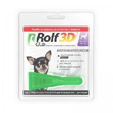 Rolf club 3d - капли для собак весом до 4кг