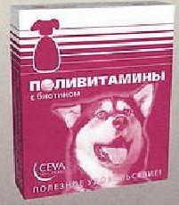 Сева - витамины для собак с биотином