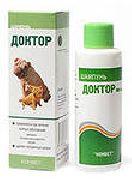 ШАМПУНЬ ДОКТОР - для лечения кожных заболеваний (демодекоз, дерматит, себорея)