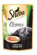 """Корм для кошек SHEBA PLEASURE """"КУРИЦА И ИНДЕЙКА"""" - КОНСЕРВЫ ДЛЯ КОШЕК"""
