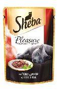 """Корм для кошек SHEBA PLEASURE """"ГОВЯДИНА И ЯГНЕНОК"""" - КОНСЕРВЫ ДЛЯ КОШЕК"""