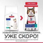 Hills SP Feline Senior Tuna - Сухой корм для пожилых кошек