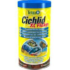 Tetra cichlid xl flakes - основной корм для всех видов декоративных рыб (крупные хлопья)