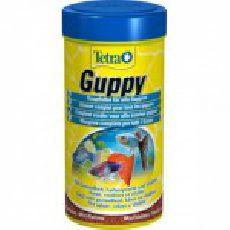 Tetra guppy - основной корм для всех видов гуппи (хлопья)