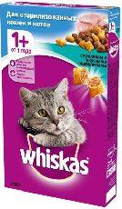 Whiskas подушечки с кроликом - сухой корм для кастрированных и стерилизованных кошек