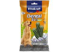 """vitakraft dental 3 в 1 fresh - лакомство для собак весом от 10 кг"